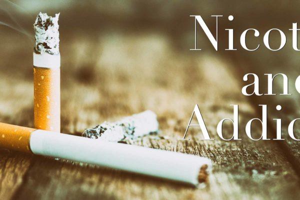 Smoking vaping addiction nicotine