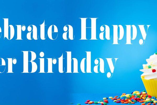 Celebrate a sober birthday