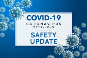 Coronavirus Covid19 Safety Update